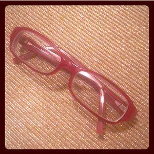0d59ed6f7b9 Dkny Accessories - DKNY glasses frames eyeglasses red plastic women